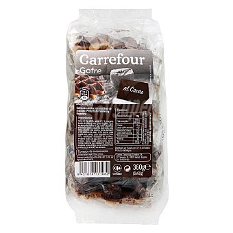 Carrefour Gofre de chocolate Pack 6x60 g
