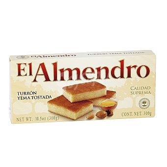 El Almendro Turrón yema tostada 300 g