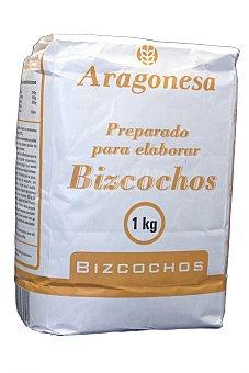 Aragonesa Harina bizcochos Paquete 1 kg