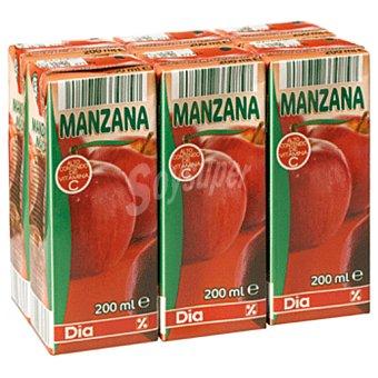 DIA Nectar manzana pack 6 briks 20 cl Pack 6 briks 20 cl