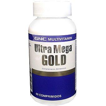 GNC Ultra Mega Gold multivitamínico ápsulas envase 200 g 60 c