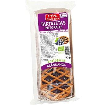 Espiga biologica Tartaletas integrales con arándanos ecológicas Envase 55 g