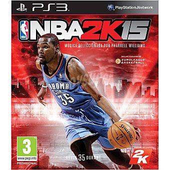 PS3 Videojuego Nba 15 para Ps3 2k