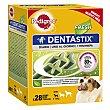 Snack para perros mini y pequeños para un aliento fresco  Caja 28 unidades  Pedigree Dentastix