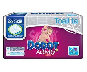 Dodot Toallitas Activity Recambio Duopack 108 Uds