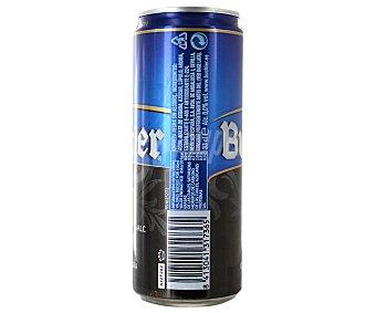 Buckler Cerveza negra sin alcohol 0,0 lata 33 cl