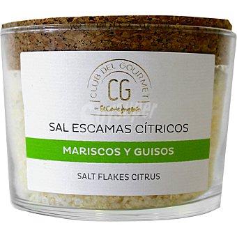 Club del gourmet Sal de escamas con cítricos tarro 100 g tarro 100 g