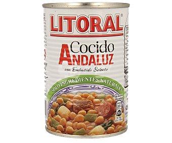 Litoral Cocido andaluz Lata 425 g