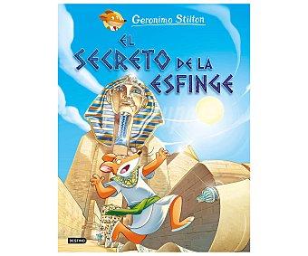 Destino El secreto de la Esfinge, geronimo stilton. Género: infantil, Editorial Destino.