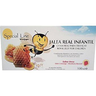 Special Line Jalea real infantil Envase 10 unidades