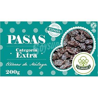 El Nogal Uvas pasas de Málaga Categoría Extra Envase 200 g
