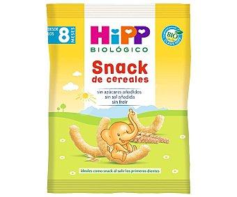 HiPP Biológico Snack de cereales con mijo, trigo, maíz, cebada y espelta a partir de 8 meses Paquete 24 g