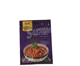 Asian Home Gourmet Preparado especias para pollo a la mantequilla indio 50 g