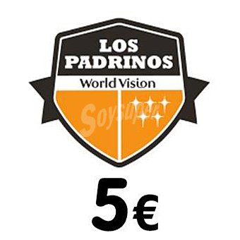 World Vision Donativo 5 € Los Padrinos 1u