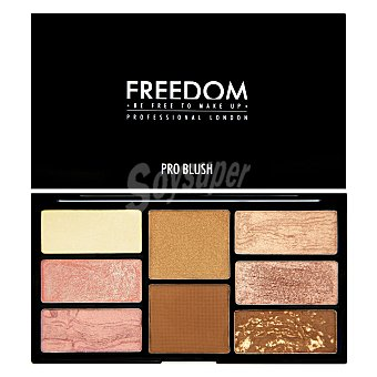 Freedom Paleta Coloretes Pro Blush Bronze 1 ud