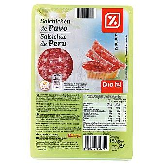 DIA Salchichón de pavo en lonchas Envase de 150 g