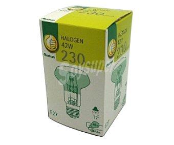 Productos Económicos Alcampo Bombilla ecohalógena reflectora E27 42W 1 Unidad