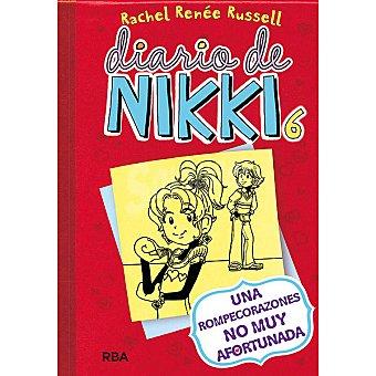 Rba Diario de Nikki 6: Una rompecorazones no muy afortunada +6 años 1 Unidad