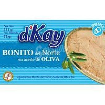 DKAY Bonito del Norte en Aceite de Oliva Lata 111g