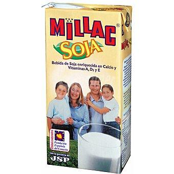 MILLAC bebida de soja enriquecida con calcio y vitaminas envase 1 l