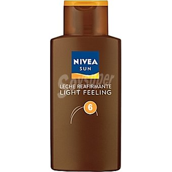Nivea Sun Leche reafirmante FP-6 Sun Light Feeling Frasco 200 ml