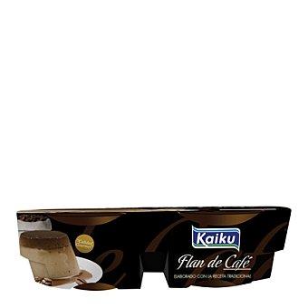 Kaiku Flan de café Pack 4x110 g