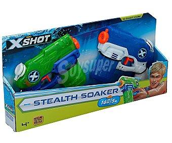 Xshot Set de 2 pistolas de agua con alcance de hasta 5 metros y 22cl de capacidad, xshot. 22 cl
