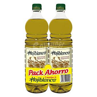 Hojiblanca Aceite de oliva virgen extra Pack 2 botellas 1 l