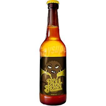PAQUI BROWN Cerveza rubia artesanal de Valencia botella 33 cl 33 cl