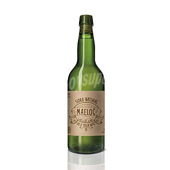 MAELOC Sidra natural ecológica botella 70 cl