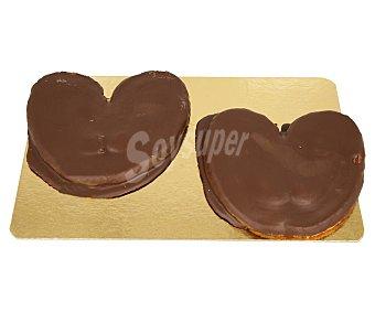 Palmera recubierta de chocolate, , 250g 2 uds