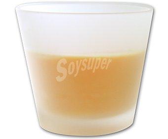 Auchan Vela en vaso de 8 centímetros, perfumada y con olor a naranja 1 Unidad