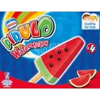 Nestlé Helado pirulo watermelon caja 4 ud 268 ml Caja 4 ud 268 ml