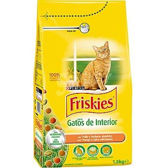 Purina Friskies Especial gatos de interior Bolsa 1,5 kg