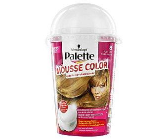 Palette Schwarzkopf Tinte Rubio Claro Nº8 Mousse Color 1 Unidad