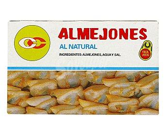 Conservas Cerqueira Conserva de almejones al natural 63 gramos