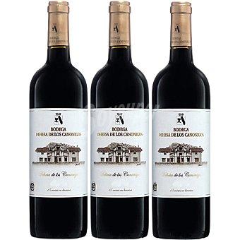 Dehesa de los Canónigos Vino tinto crianza D.O. Ribera del Duero 75 Estuche 3 botella