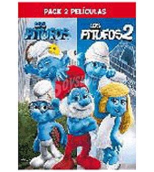 LOS PITUFOS Boxset 1+ 2 DVD