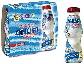 Chufi Horchata de Chufa de Valencia Pack 3 botellas x 250 ml