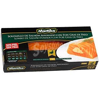 Martiko Solomillo de salmón ahumado con foie gras de pato Envase 150 g