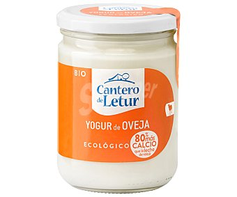 EL CANTERO DE LETUR Yogur natural de leche de oveja ecológico Frasco de 420 g