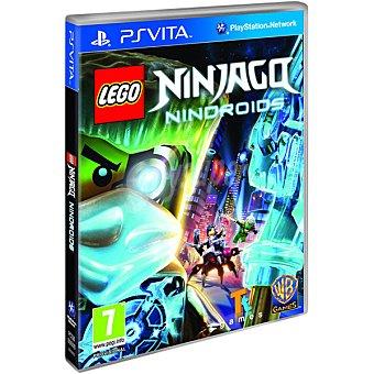PS VITA Videojuego Lego Ninjago: Nindroids  1 unidad