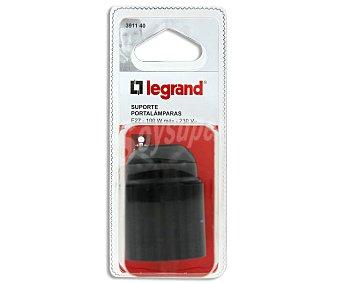 LEGRAND Casquillo E27 100W máximo, negro 1 Unidad