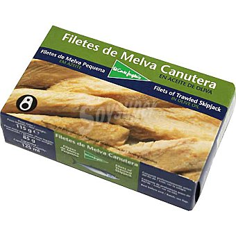El Corte Inglés Melva canutera en aceite de oliva Lata 85 g neto escurrido