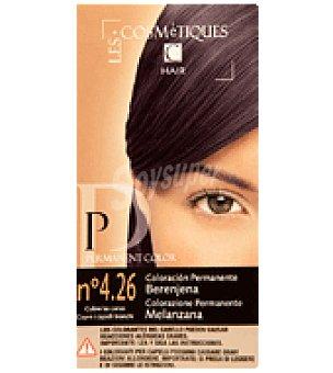 Les Cosmetiques Crema colorante permanente Berenjena Nº 4.26 1 unidad