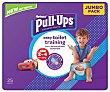 Pañales de aprendizaje talla 2-4, para niños de 18 a 23 kilogramos 25 uds Huggies Pull-Ups