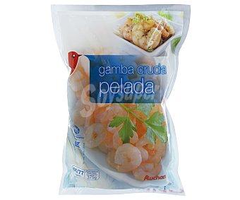 Auchan Gamba cruda pelada 50/77 piezas, 375 gramos 375g