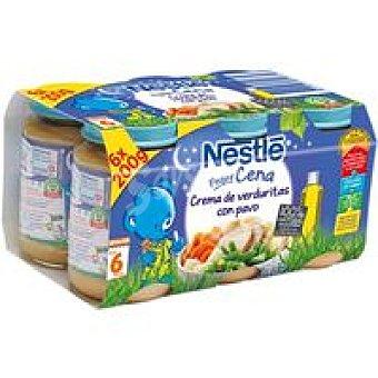 Nestlé Tarrito de pavo Peque Cena Pack 6x200 g
