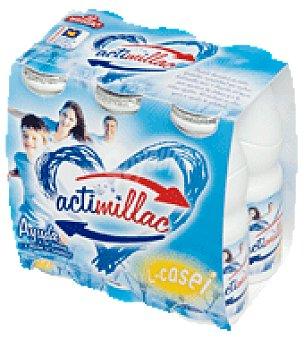 Millac Actmillac natural Pack de 6x105 g
