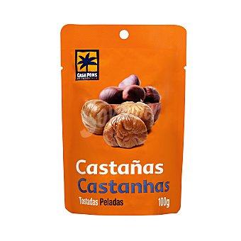 Casa Pons Castañas tostadas peladas Paquete 100 g